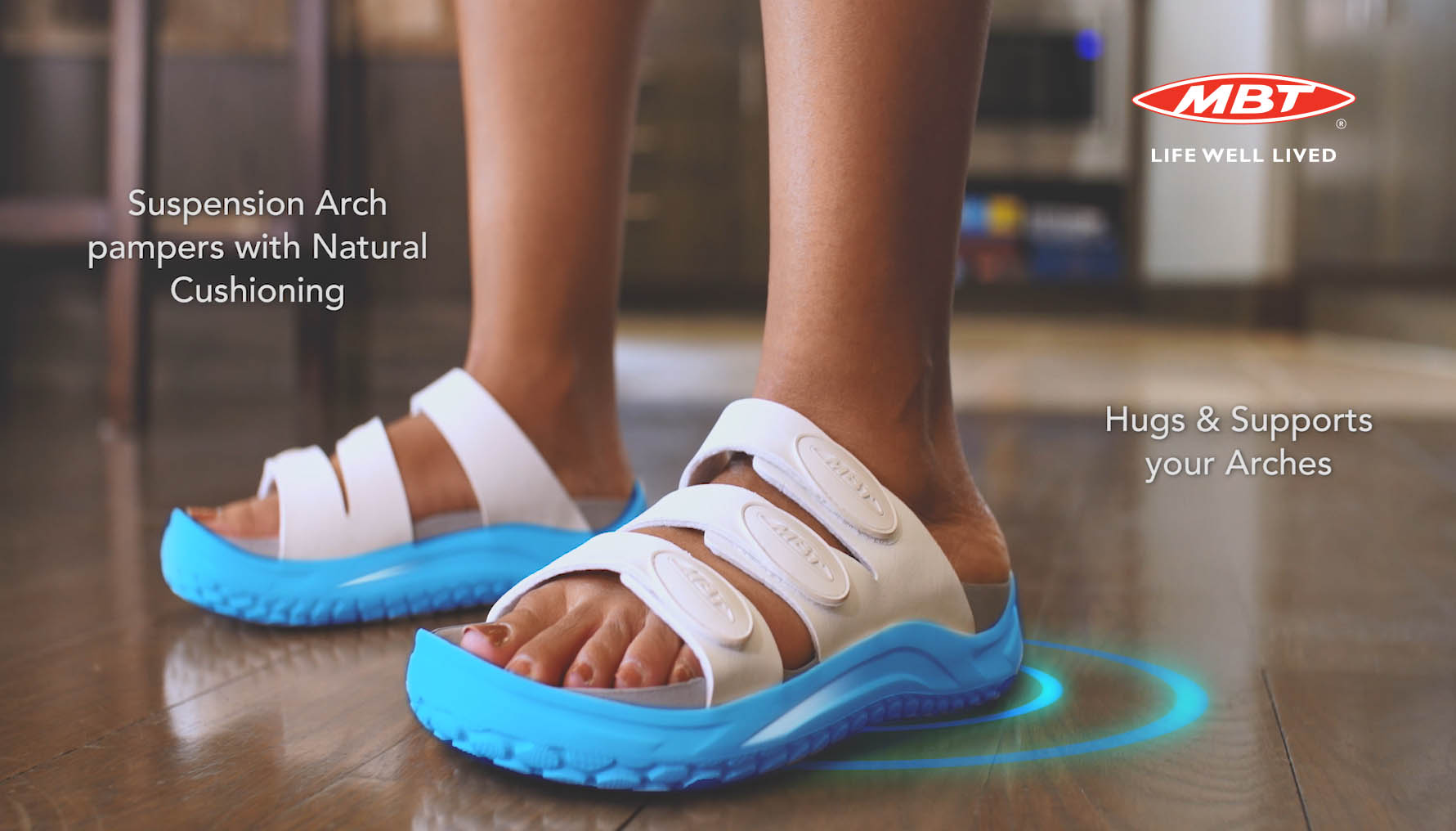 NEW MBT RECOVERY SANDALS